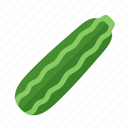colour, food, garden, green, health, vegetable, zucchini icon