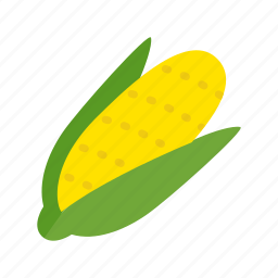 cob, colour, corn, food, garden, health, vegetable icon