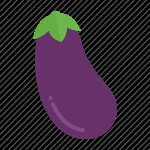 aubergine, colour, eggplant, food, garden, health, vegetable icon