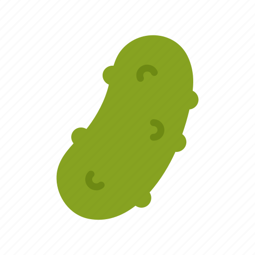 colour, cucumber, food, green, pickle, pickled, vegetable icon