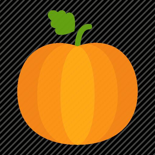 colour, food, garden, halloween, orange, pumpkin, vegetable icon