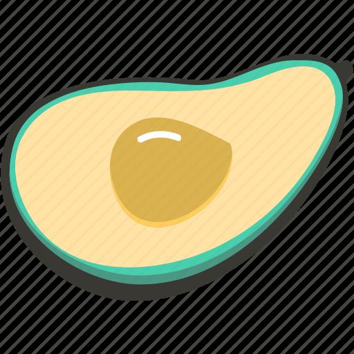 Avocado, fresh, veggie, food, plant icon - Download on Iconfinder