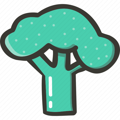 Broccoli, fresh, veggie, food, plant icon - Download on Iconfinder