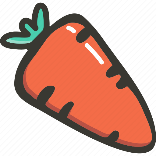 Carrot, green, veggie, food, plant icon - Download on Iconfinder