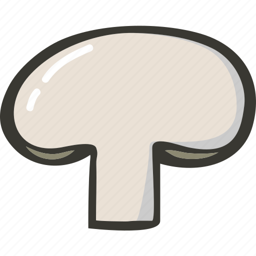 Fresh, mushroom, veggie, food, plant icon - Download on Iconfinder