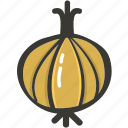 food, fresh, onion, plant, veggie icon