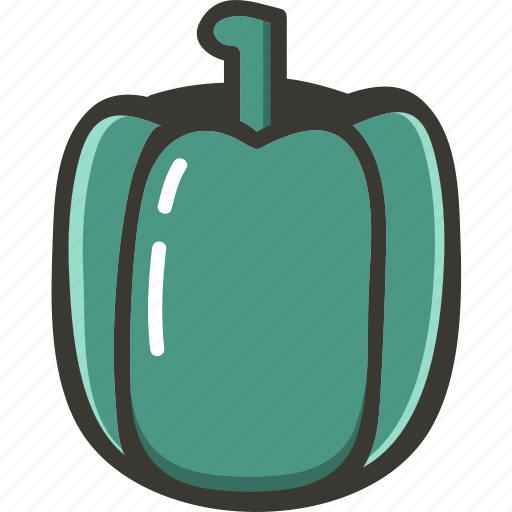 food, fresh, pepper, plant, veggie icon