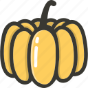 food, fresh, plant, pumpkin, veggie icon