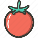 food, fresh, plant, tomato, veggie icon