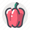 cooking, garde, kitchen, natural, organic, vegetable icon
