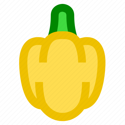 Food, vegetable, bell pepper, pepper, paprika icon