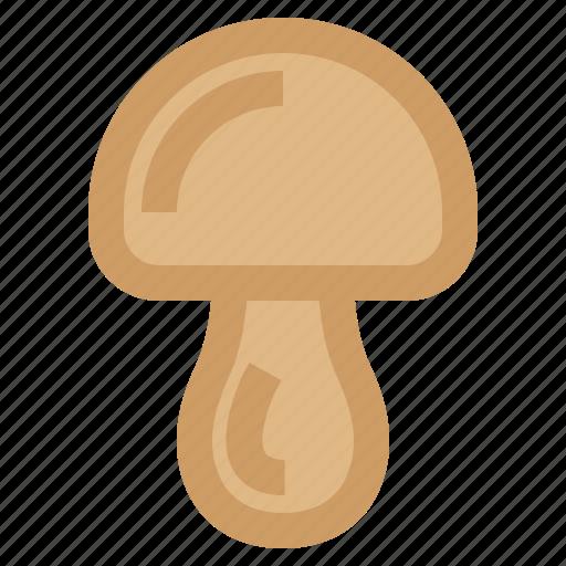 food, ingredient, mushroom, vegetable icon