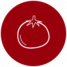 food, ingredient, tomato, vegetables icon