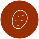 food, ingredient, potatoes, vegetables icon