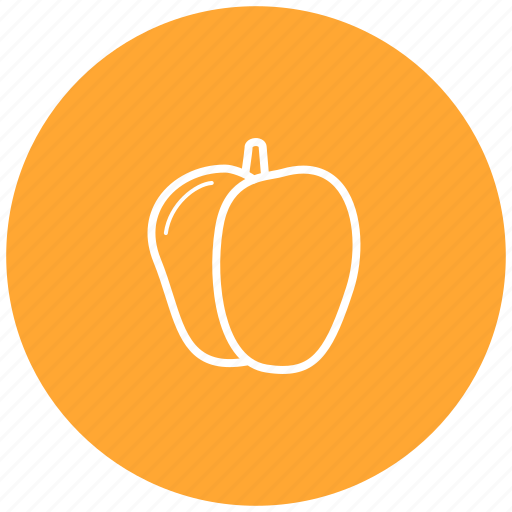 food, ingredient, pepper, vegetables icon