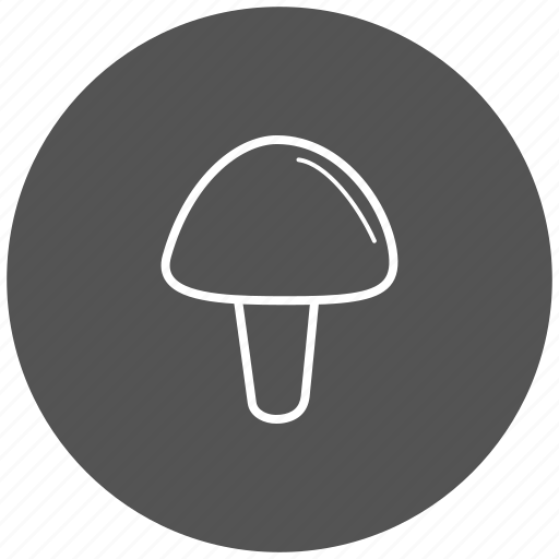 food, ingredient, mushroom, vegetables icon
