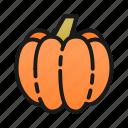 cook, halloween, kitchen, line, orange, pumpkin