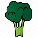 broccoli, food, fruit, vegetables icon
