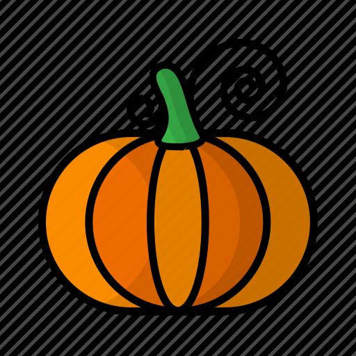 food, fruit, pumpkin, vegetables icon