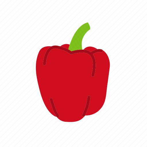 bell pepper, food, organic, peppers, vegetable, vegetarian icon