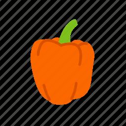 bell pepper, food, organic, peppers, vegetable, vegetarian icon