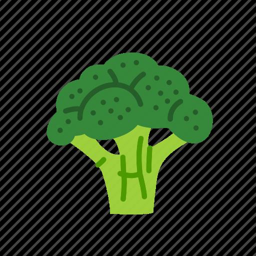 broccoli, farm, food, organic, vegetable, vegetarian icon
