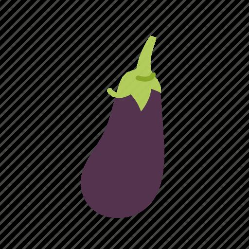 eggplant, farm, food, organic, vegetable, vegetarian icon