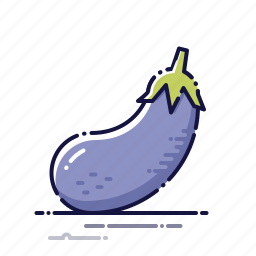 cooking, eggplant, food, kitchen, meal, plant, vegetables icon