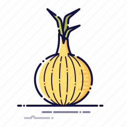 cooking, food, kitchen, meal, onion, plant, vegetables icon