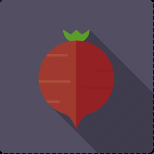 beet, food, root, vegetable, vegetarian icon