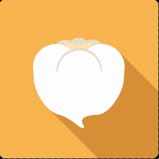 food, garlic, root, vegetable, vegetarian icon