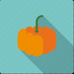 food, halloween, pumpkin, vegetable, vegetarian icon