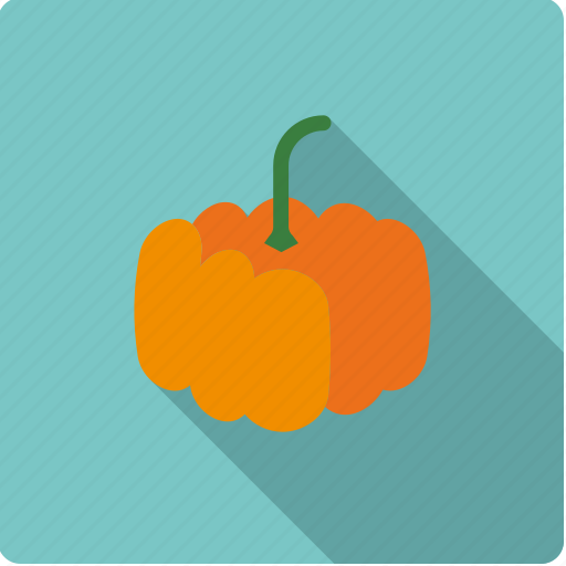food, halloween, pumpkin, vegetable, vegetarian icon