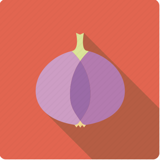 food, onion, pink, vegetable, vegetarian icon
