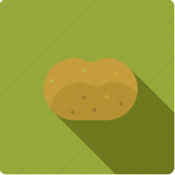 food, potato, vegetable, vegetarian icon