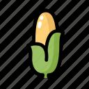 corn, food, healthy, ingredient, vegan, vegetable