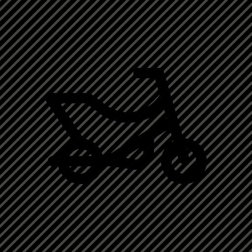 bike, car, motorcycle, traffic, transport, vehicles icon