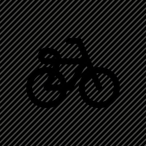 bicycle, bike, car, traffic, transport, vehicles icon