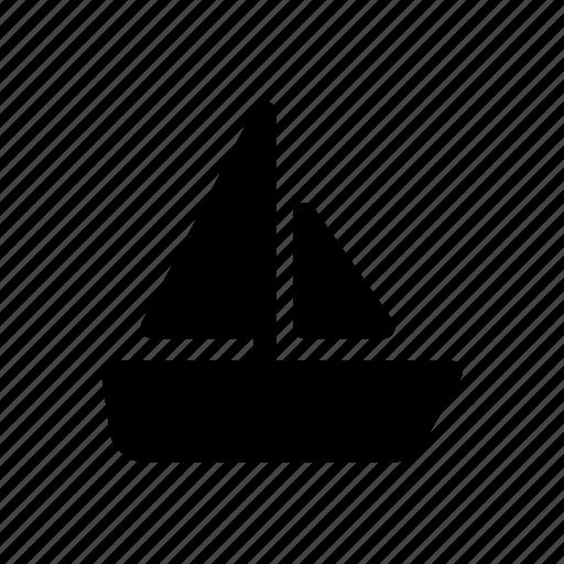 boat, car, sailing ship, traffic, transport, vehicles, vessel icon