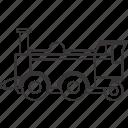 land, locomotive, train, transportation, vehicle icon