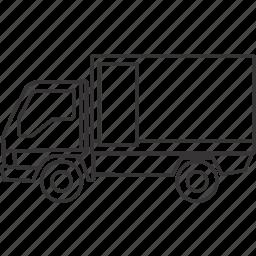 box, car, land, transportation, vehicle icon