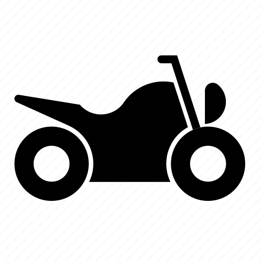 motorbicycle, motorcycle, traffic, transport, vehicle icon