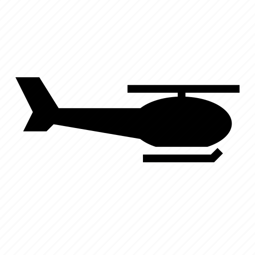 helicopter, traffic, transport, vehicle icon