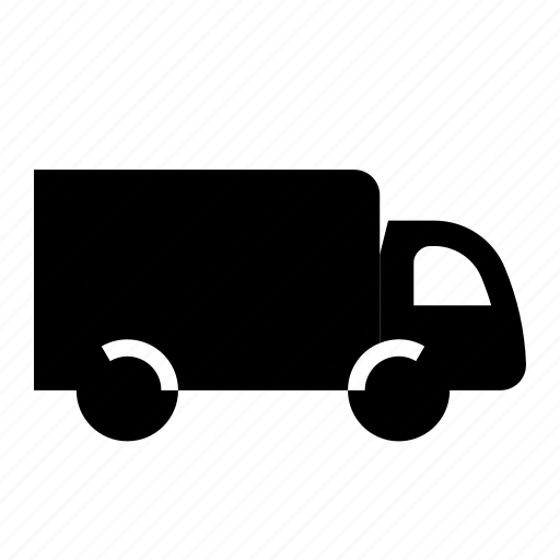 delivery, lorry, truck, van, vehicle icon