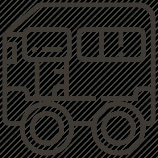 auto, automobile, car, transport, transportation, van, vehicle icon