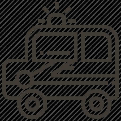 auto, automobile, car, police, transport, transportation, vehicle icon