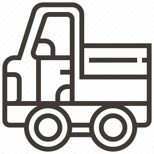 automobile, car, delivery, transport, transportation, truck, vehicle icon