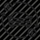 hybrid, car, electric, environment