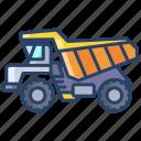 construction, truck