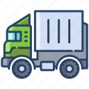 container, truck